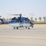 فرق الجهات الأمنية وطائرة هليكوبتر تبحث عن مواطن  من اهالي المحافظة