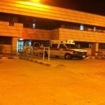 قبل قليل : نقل المصاب لمستشفى في الرياض في حالة خطرة