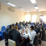 زيارة وفد التطوير و الجودة لكليـات الجامعة بالافلاج