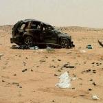 حادث مروري يقضي على عائلة من أهالي الأفلاج