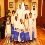 """""""المجموعة العربية للتعليم والتدريب"""" تحتفل بأبناء جمعية """"إنسان"""""""