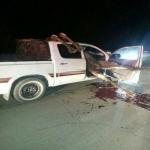 بالصور..إصابة شاب في حادث اصطدام بأحد الجمال السائبة بالغيل