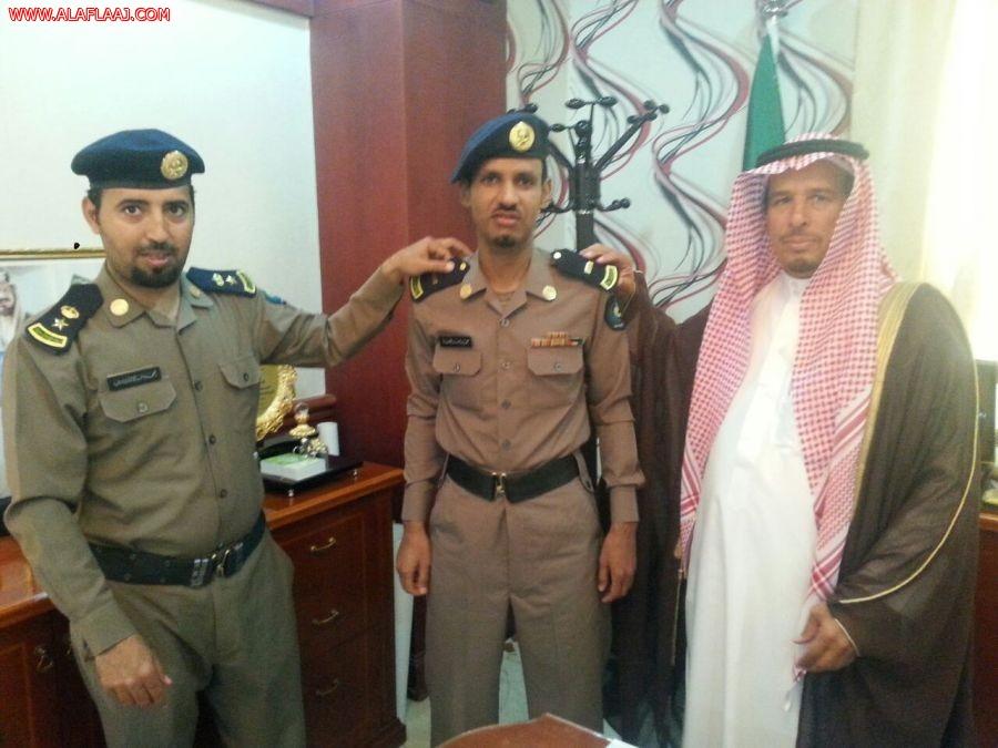ترقية رئيس رقباء محمد القنعير