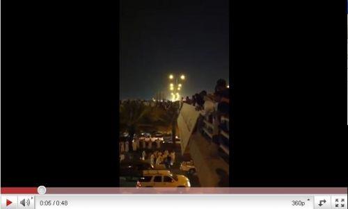 الأن فديو محاولة إنتحار مخرج 9 في الرياض أمس الجمعه