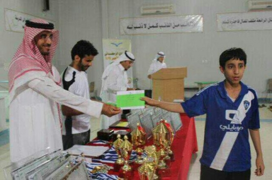 مسابقة الأسرة المسلمة بالنادي الرمضاني بالأحمر برعاية محامص وحلويات جودي