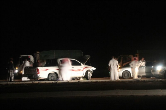 نجاة مواطن من حادث