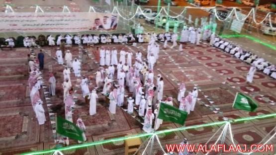 احتفال أهالي الأحمر بعيد الفطر المبارك