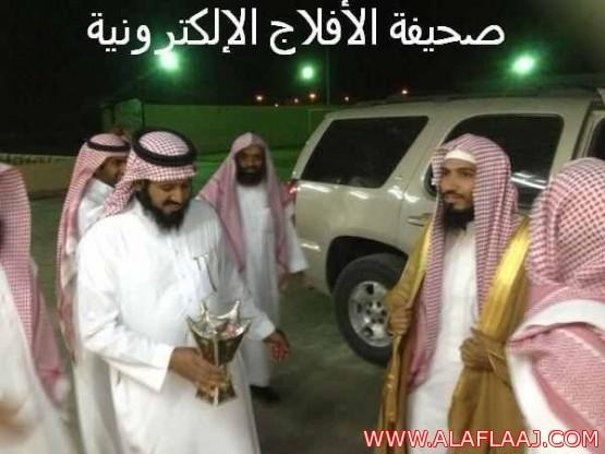 الشيخ أحمد بن سعدالعسكرقاضي محكمة الهدار يودع