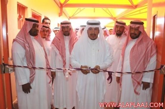 مدير التربيـة والتعليـم يفتتح مبنى مدرسة أنس بن مالك الابتدائية الجديدة