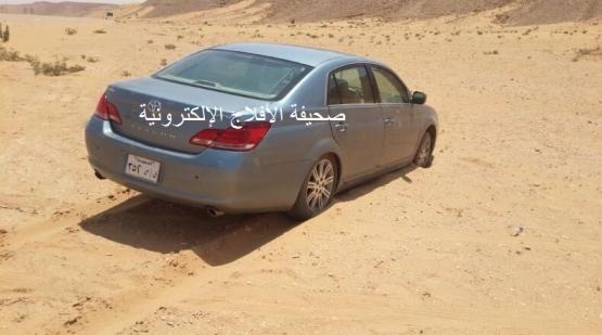 نجاة مواطن أثر خلل فني في سيارته
