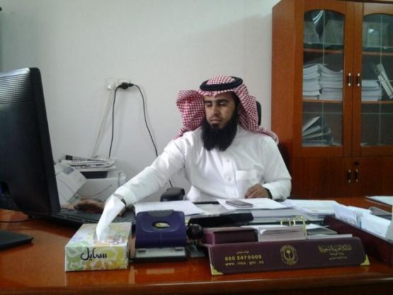آل بكر نائبا لمدير المياه بالمحافظة