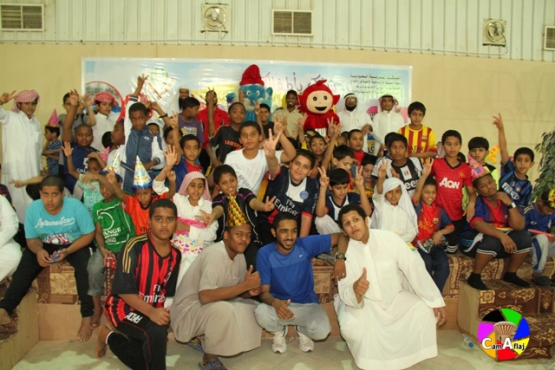 بالصور : لجنة التنمية الاجتماعية الأهلية بالأفلاج تختتم برنامج ( مهرجان الطفل )