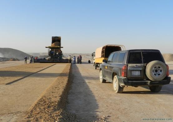 طريق الأفلاج -  حوطة بني تميم - الحائر (بالصور)