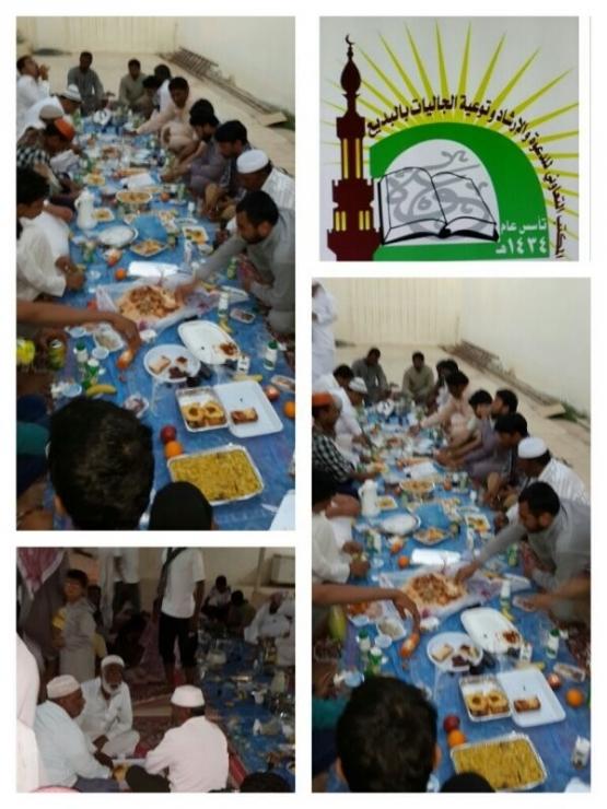 تعاوني البديع يقبم مشروع إفطار الصائمين للجاليات