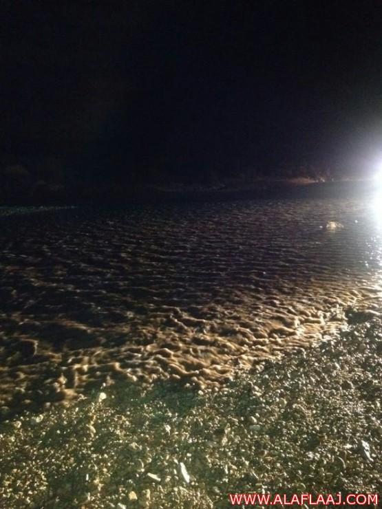 أمطار المغرب تسيل شعاب ستارة