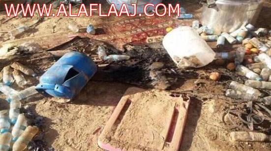 إصابة 16 شاباً في انفجار دافور بمخيم في الدلم