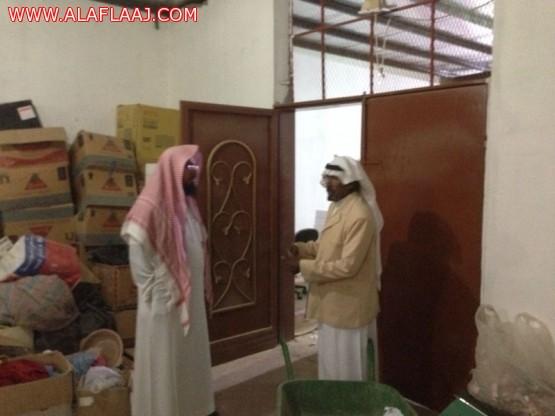 الشيخ سعد ال سليمان يزور جمعية الهدار