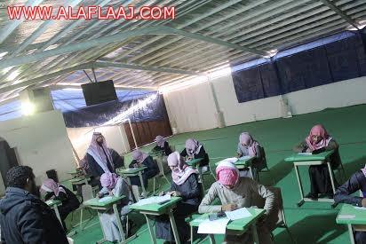 مساعد مدير التربية يشكر مدارس رواد الأفلاج الأهلية