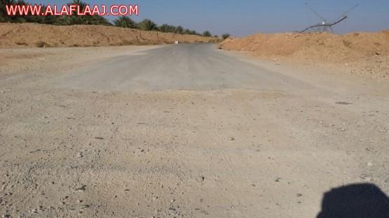 سكان الخرفة الطرق بعد السيول لم تتغير