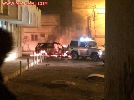 إصابة ثمانية من رجال الإمن وإستشهاد أحدهم  بالأفلاج