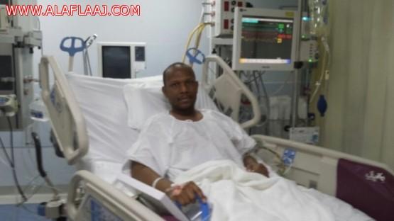 صحيفة الأفلاج : تزور رجال الأمن المصابين في حادثة الأفلاج