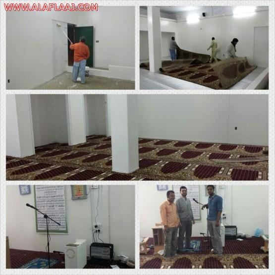 تعاوني البديع يقوم بتهئية مسجد للجاليات المسلمة
