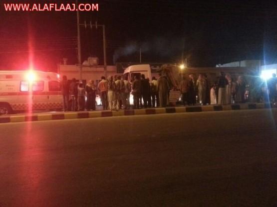 إصابة أسيوي في حادث بين سيارات اليوم بالأفلاج