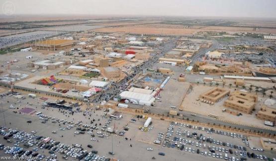 120 ألف زائر لمهرجان الجنادرية في يومه الثاني