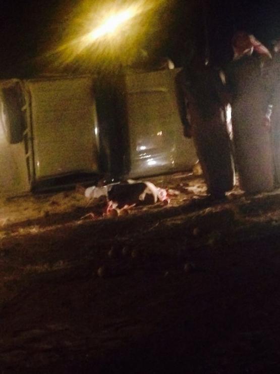 حادث مروري يصرع مواطناً في الأفلاج