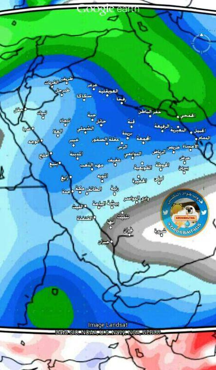 الخضاري : تقلبات جوية سريعة خلال الأسبوعين القادمين على مناطق المملكة