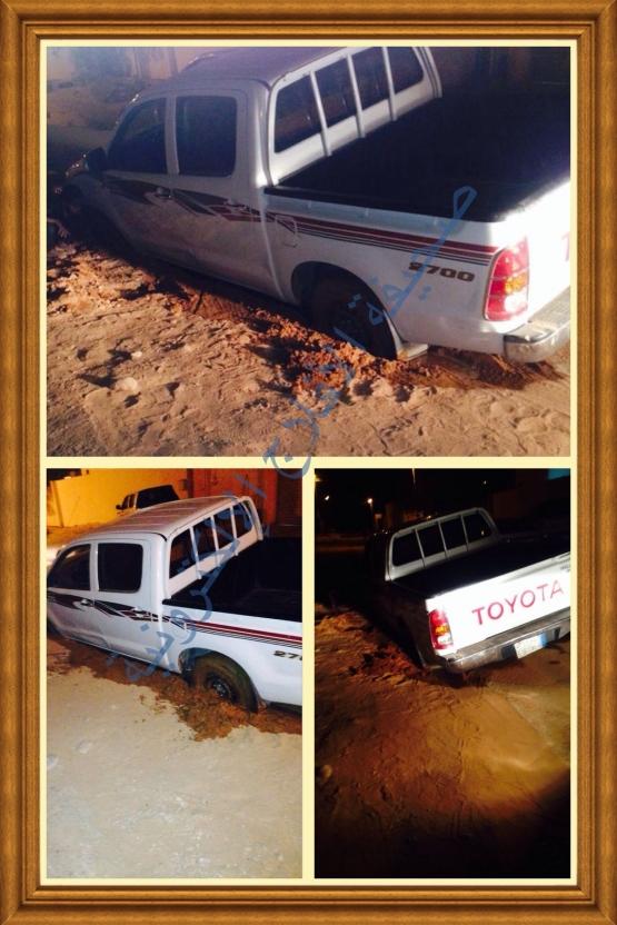 سقوط سبعيني في حفرة تابعة لمؤسسة متعاقدة مع المياه