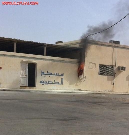 مدني الأفلاج يخمد حريق مسجد الحصينية