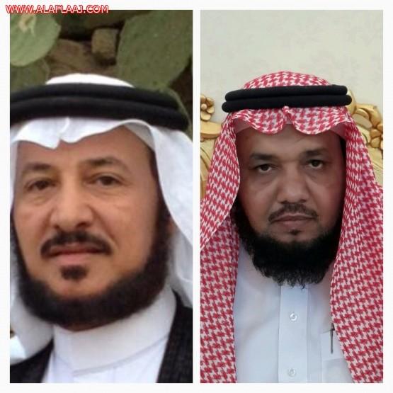 الشيخ عبدالرحمن أبودجين والشاعر الدكتور عبدالرحمن العشماوي في ذكرى 1409