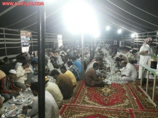 15 عامآ وجمعية البر في البديع تقوم على إفطار الصائمين