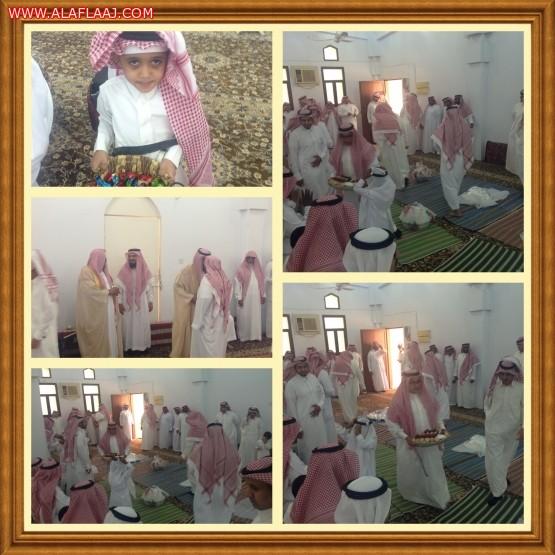 مسجد كعب بن مالك يقيم إفطار العيد