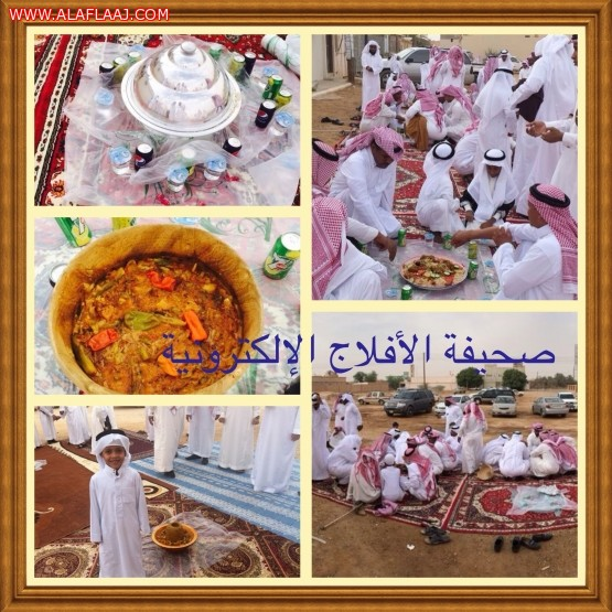 أهالي البطينة في البديع يحتفلون بالعيد على طريقتهم