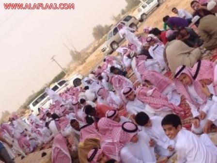 أهالي مركز الخرفة يحتفلون بعيد الفطر المبارك