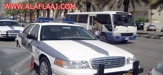 الدوريات اﻷمنية  تحبط محاولة هروب مواطن من توقيف قسم المخدرات