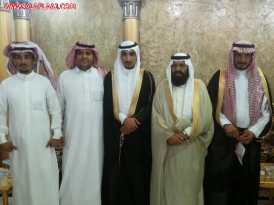 الشكرة يحتفلون بزواج ابنهم راشد ادريس آل دحيم