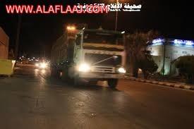 مواطنون : مرور الشاحنات داخل البلد مخالفة مرورية