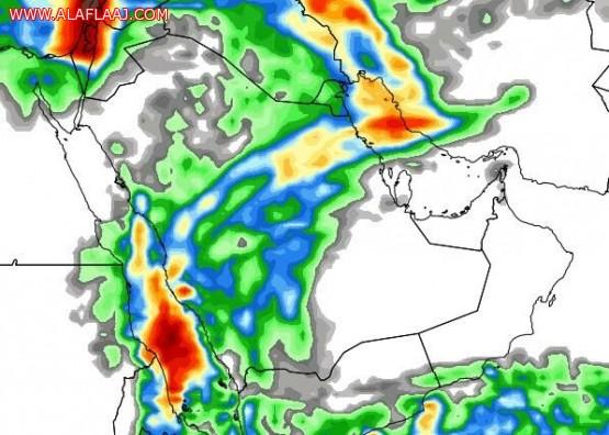 الخضاري : حالة جوية ممطرة على عدد من مناطق المملكة اعتبارا من اليوم