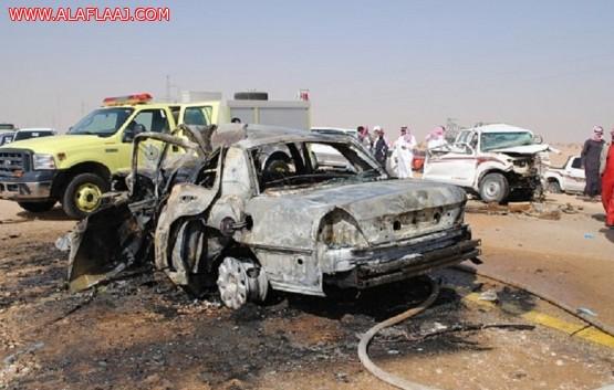 الحوادث المرورية تقتل 52 وتصيب 819 شخصاً في الأفلاج خلال عام