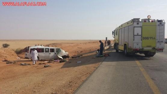 «مرور الرياض» تحمّل السائق الخطأ في حادثة «الأفلاج»