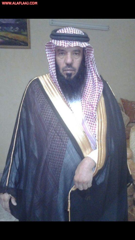 الشيخ عبدالله بن مشعي ال مانع يعزي القيادة ويبايع الملك سلمان وولي عهدة وولي ولي العهد