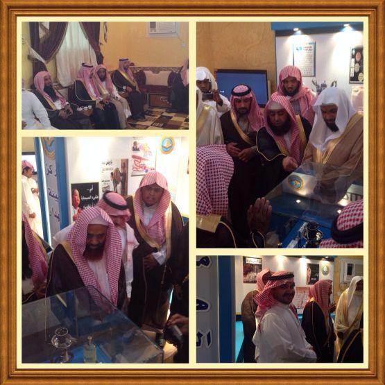 الكبرى يفتتح المركز التوجيهي بهيئة الهدار  بحضور الشيخ مسفر بن بريكان الشكرة