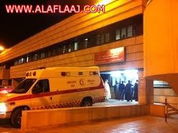 القبض على شاب بحالة غير طبيعية تهجم على طبيب بمستشفى الأفلاج
