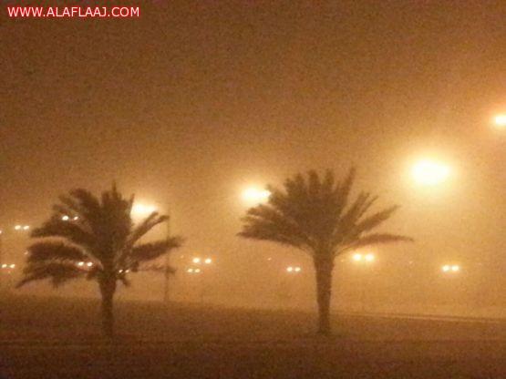 """""""المرور"""": 354 حادثاً مرورياً خلال موجة الغبار وأكثر من 5 آلاف بلاغ"""