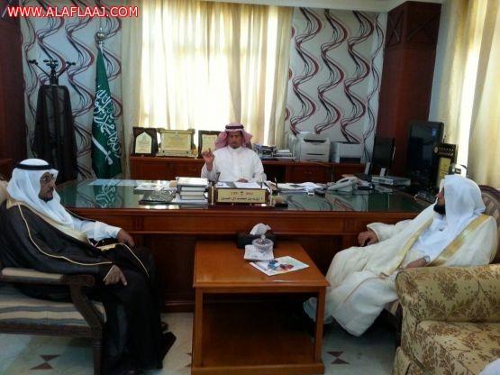 محافظ الأفلاج يستقبل مدير إدارة الأوقاف والمساجد والدعوة والإرشاد