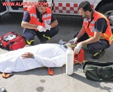 وفاة وإصابة 4 في حادث تصادم على طريق الأفلاج