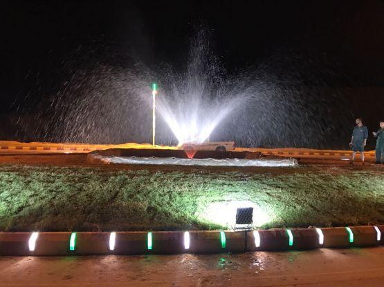 بلدية الأحمر تنهي كافة استعداداتها لاستقبال عيد الفطر